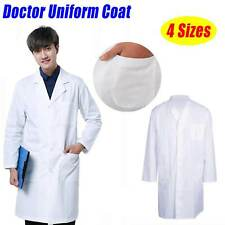 Lab Coat Hygiene Food Industry warehouse Laboratory Doctors Medical coat White