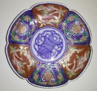 Antique Japanese Porcelain Plate, Hand-Painted