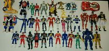 HUGE Power Rangers Action Figure Lot!  47 Figures!!!!