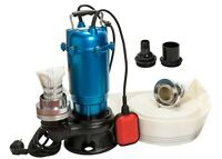 Schmutzwasserpumpe Tauchpumpe mit Schwimmer IBO 750W/0,75KW +20m Schlauch