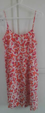GAP pink coral mix Floral summer dress