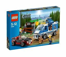 Lego City 4441 Mountain POLICE DOG VAN Gold Mine Sports Car Roadster Robber NISB
