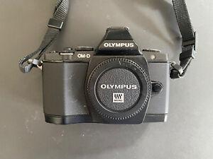 Olympus OMD EM-5 D schwarz Inklusive M. Zuiko 40-150mm