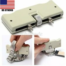 Adjustable Watch Back Case Cover Opener Steel Remover Wrench Repair Kit Tool