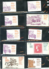 A07569 -- 49 Great Britain stamp booklets