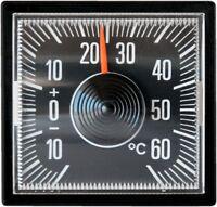 Historisches Bimetall Thermometer RICHTER Art. 4528 selbstklebend justierbar