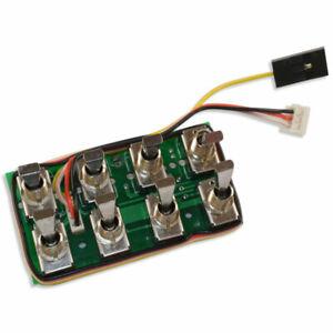 Robbe 8084 Multi-Switch-Prop 16 Modul für Futaba-Sender der F-Serie F14 F16
