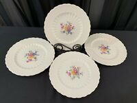 "Spode's Jewel Copeland ""ANN HATHAWAY"" ~ England ~ Set of 4 ~ Salad Plates ~ 8"""