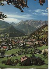 Alte Postkarte - Schruns mit Zimba