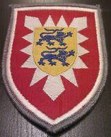 ✚0309✚ German Bundeswehr sleeve patch insignia 16th PANZER GRENADIER BRIGADE