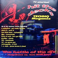Hit the Decks 1-The Battle of the DJ's (1992) 2 Unlimited, Prodigy, T99, .. [CD]