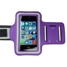 Purple Sports Armband Running Gym Exercise Case for Apple iPhone SE 5S 5C 5 4S