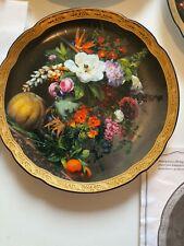 3 Sammelteller Blumen Bradex Mit Zertifikat