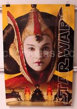 "Star Wars Episode 1 Phantom Menace Display Queen Amidala Anakin Skywalker 24x36"""
