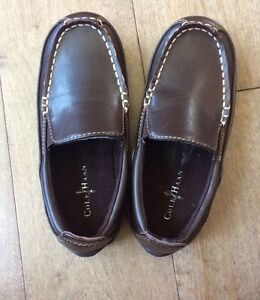 Cole Haan Boys Brown Loafers