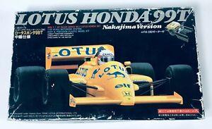 Lotus Honda 99T Nakajima Version Aoshima F-1 GP Racer Series 1/32 Japan Model