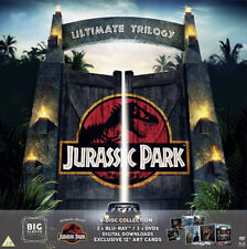 JURASSIC PARK ULTIMATE TRILOGY 6 DISC COLLECTION BIG SLEEVE EDITION BLU-RAY DVD