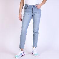 Levi's Wedgie Fit Damen Bauhaus Blue Blau Jeans DE 36 / W29