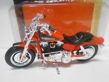 HARLEY DAVIDSON 2009 FXDFSE CUO FAT BOB MOTO BIKE MAISTO 1/18