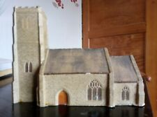 Stone Church with Tower Model Railway Building. (No.5)