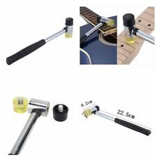 Useful Guitar Bass Fret Hammer Double Plastic Head Guitar Wire Replacement Tool