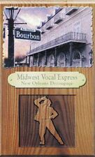 New Orleans Decoupage by Midwest Vocal Express Audio Cassette Tape Folk Jazz