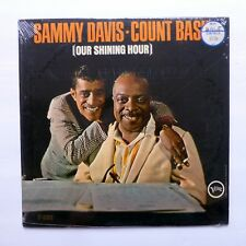 SAMMY DAVIS Count BASIE  Our Shining Hour LP SEALED mono 1965 swing   e81