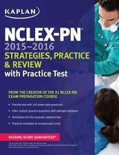 NCLEX-PN 2015-2016 Strategies, Practice, and Review with Practice Test (Kaplan N