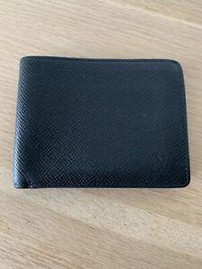 Authentic Mens Louis Vuitton Black Wallet