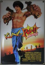 KUNG POW ENTER THE FIST DS ROLLED ORIG 1SH MOVIE POSTER STEVE OEDERKIRK (2002)