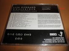 LISA GERRARD score WHALE RIDER soundtrack PROMO ADVANCE cd (dead can dance) 4AD