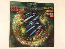 Buddy Cole – Merry Christmas From Buddy Cole On Organ & Chimes vg/vg vinyl lp