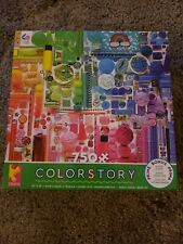 Ceaco Color Story 750 Piece Jigsaw Puzzle