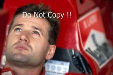 Nicola Larini Ferrari F1 Portrait 1992 Photograph