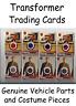Topps Trading Cards Transformers Memorabilia Tessa Optimus prime Tail light