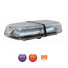 Barra Lampeggiante LED Arancione Emergenza 315mm Auto Camion 12V 24V Omologata