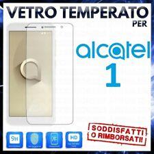 PELLICOLA in VETRO TEMPERATO per ALCATEL 1 Proteggi Schermo Protezione Display