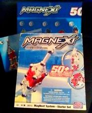 MagNext System Starter Set Mega Bloks 29713 w/box.Directions & Lrg Model Poster