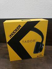 Kicker Tabor Over The Ear Bluetooth Wireless Headphones HP402BTB