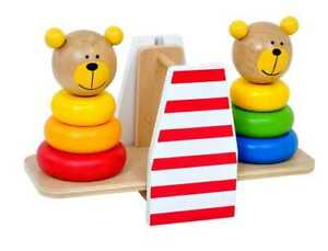 NEW Tooky Toy Bear Balance Stacker, Kids Fun Learning Toy, Animal, Kids Activity