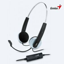 GENIUS HEADPHONE WITH MICROPHONE HS-210U