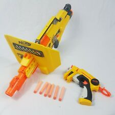 Nerf Stampede ECS With Shield Hasbro Battery Operated Automatic Mag Ammo