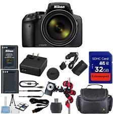 Nikon Coolpix P900s Wi-Fi 83x Zoom Digital Camera + Accessory Bundle