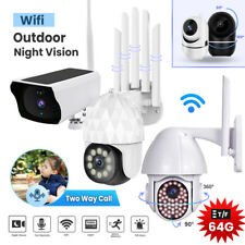 1080P HD WIFI IP Wireless Outdoor Camera CCTV HD PTZ Home Smart Security IR Cam
