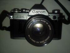 Canon AE-1 Program 35mm SLR Film Camera with 50mm f/1.8SC lens Kit