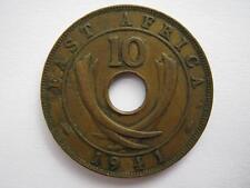 Afrique de l'Est 1941 bronze 10 cents, VF.