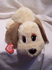 Vintage Pound Puppies Lovable Interactive Plush Dog Barks Whines Head moves 2004