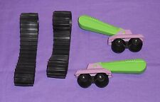 vintage Mego Micronauts TERRAPHANT PARTS LOT includes rubber treads