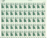 Scott  #1380... 6 Cent....Daniel Webster...Sheet of 50 Stamps