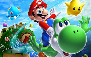 SUPER MARIO POSTER - A3 SIZE 297X420MM - BUY 2 GET A 3RD FREE! (2) UK SELLER